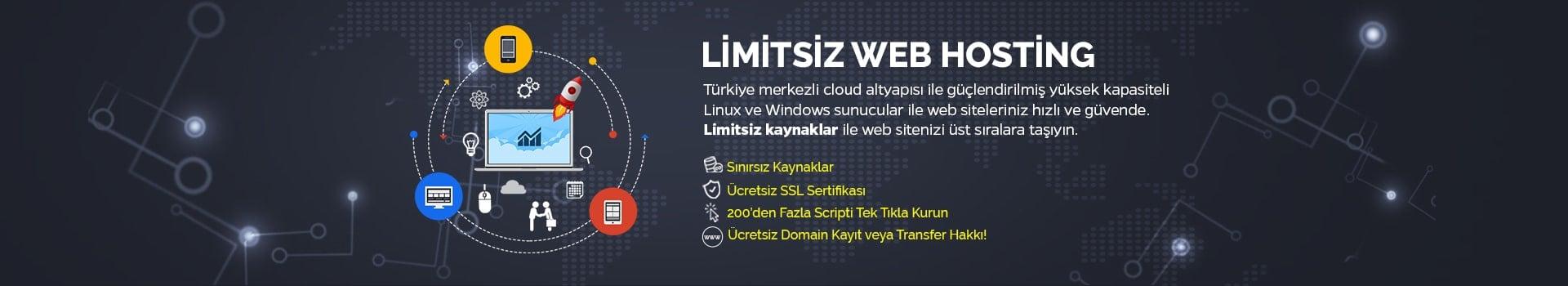Limitsiz Web Hosting